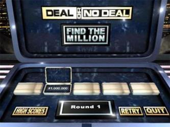Deal or No Deal Secret Vault Games