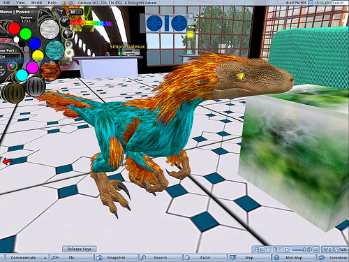 Play free Dinosaurs Park Second Life Online games
