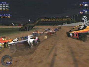 Dirt Track Racing on Race Cars Game Pc