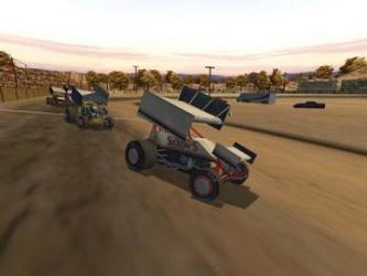 Dirt Track Racing Sprint Cars