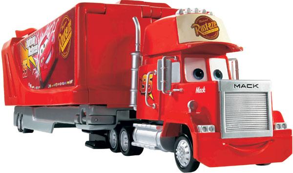 Disney Pixar Mack Trailer Truck Disney Mack Racing Team