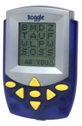 Electronic Handheld Boggle