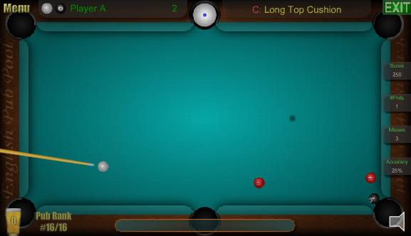 Pub Snooker - Mindjolt Games
