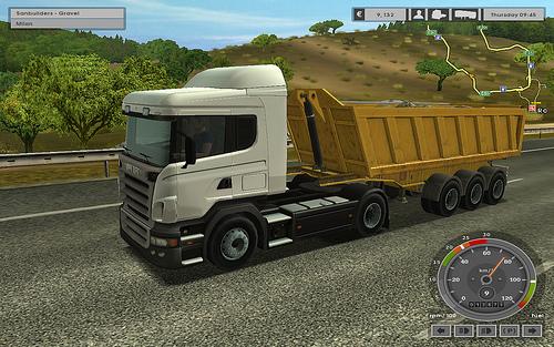 Euro Truck Simulator Realistic 18 Wheels Truck Driving