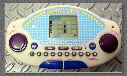 Family Feud handheld game