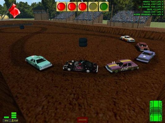Demolition Derby And Figure Race Game Cars And Different