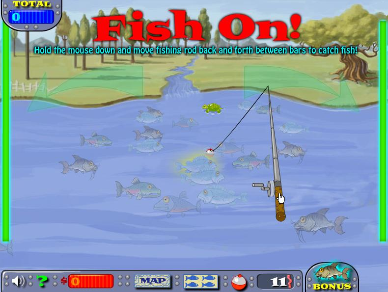 Play free fishing champion online games for Free online fishing games