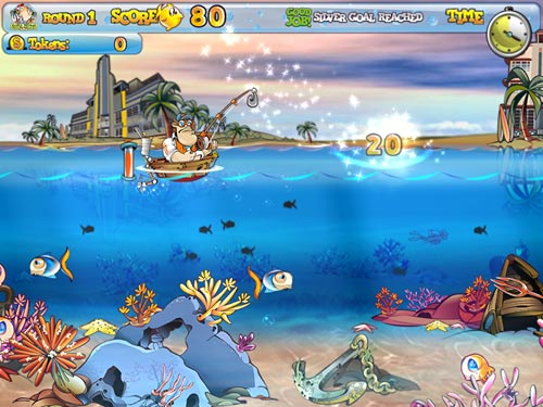 Play free fishing craze online games for Free fish games