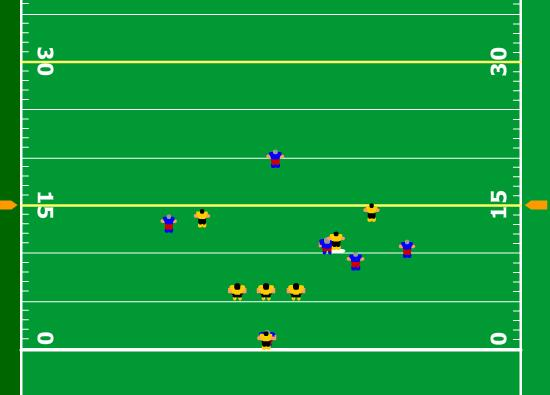 flag football plays for 5 players games