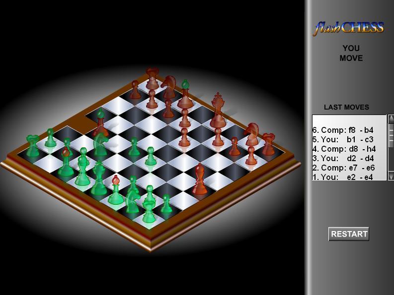 play chess flash