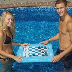 Floating Checkers Gameboard
