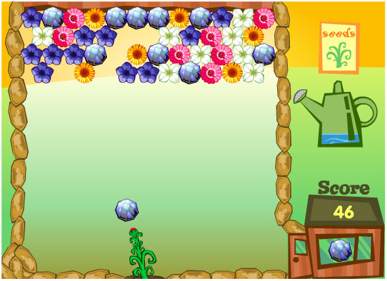 Play free Flower Power Online games.