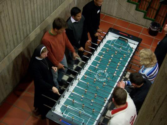 Foosball 8 Player Table Table Soccer Table Twice The