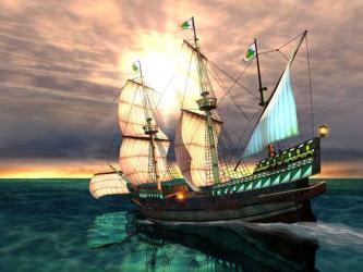 Spanish Galleon ship