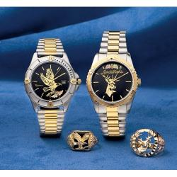 Gold Deer Watches and Rings