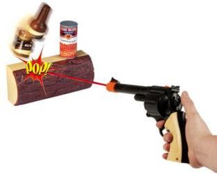 Gunslinger Infrared Shooting Game