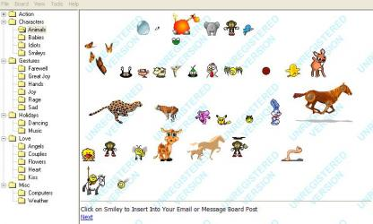 Handy Animated Emoticons