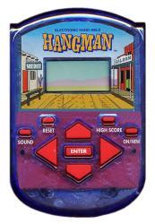 Hangman Electronic Handheld
