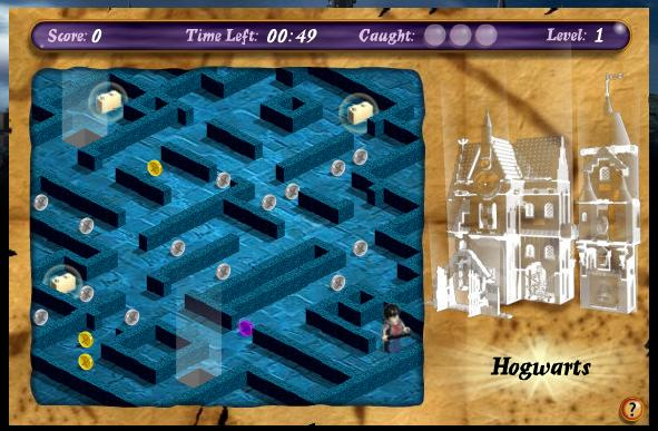 Delightful Picture 1 · Staircase Harry Potter Game