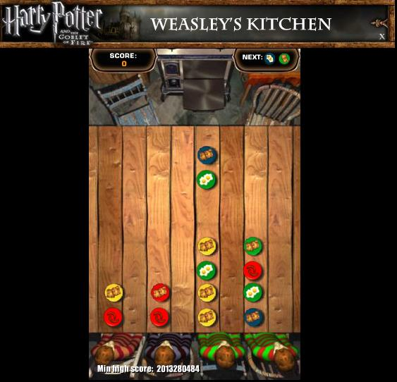 Kitchen Games: Harry Potter Play Free Online Harry Potter Games. Harry