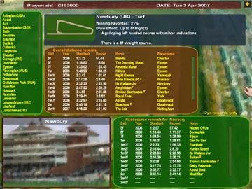 horse race betting games party