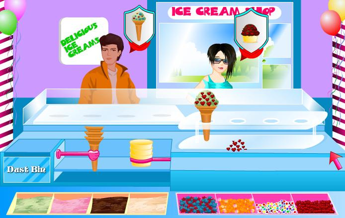Ice Cream Sandwich Cake - A Free Girl Game on GirlsGoGames.com
