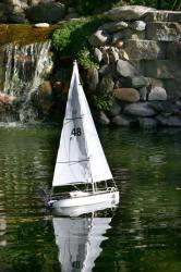 Intrepid Remote Control Sail Boat