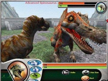 Dive into real-time 3-D action Dinosaurs Games