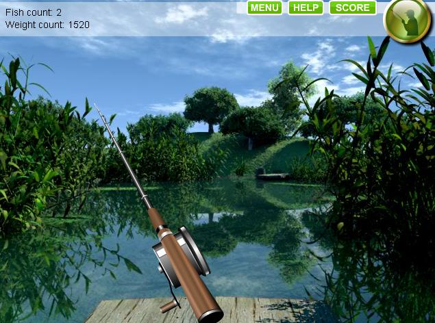 Realistic fishing games free for Lake fishing games
