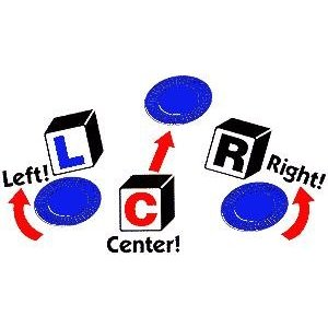 rules for dice game left right center