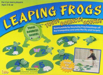 Leaping Frogs Board Game