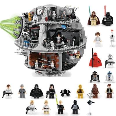 LEGO Star Wars Death Star Huge LEGO Death Star Playset with multiple ...