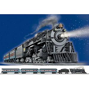 Lionel Trains Polar Express Train Set Rail Road Train Like