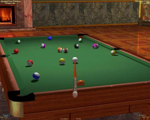 2 player pool games straight pool
