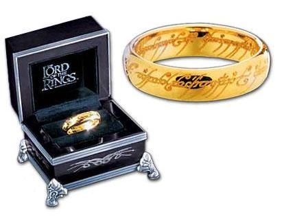 The Lord of the Rings Gold One Ring