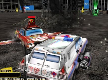 Metal Mayhem Car Game
