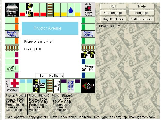 Game Java Monopoly 3D
