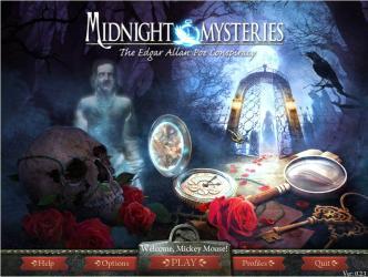 Midnight Mysteries The Edgar Allan Poe Conspiracy