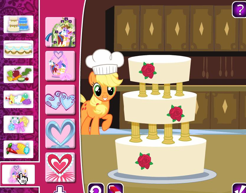 Play free my little pony wedding cake online games wedding cake online game picture 1 picture 2 junglespirit Gallery