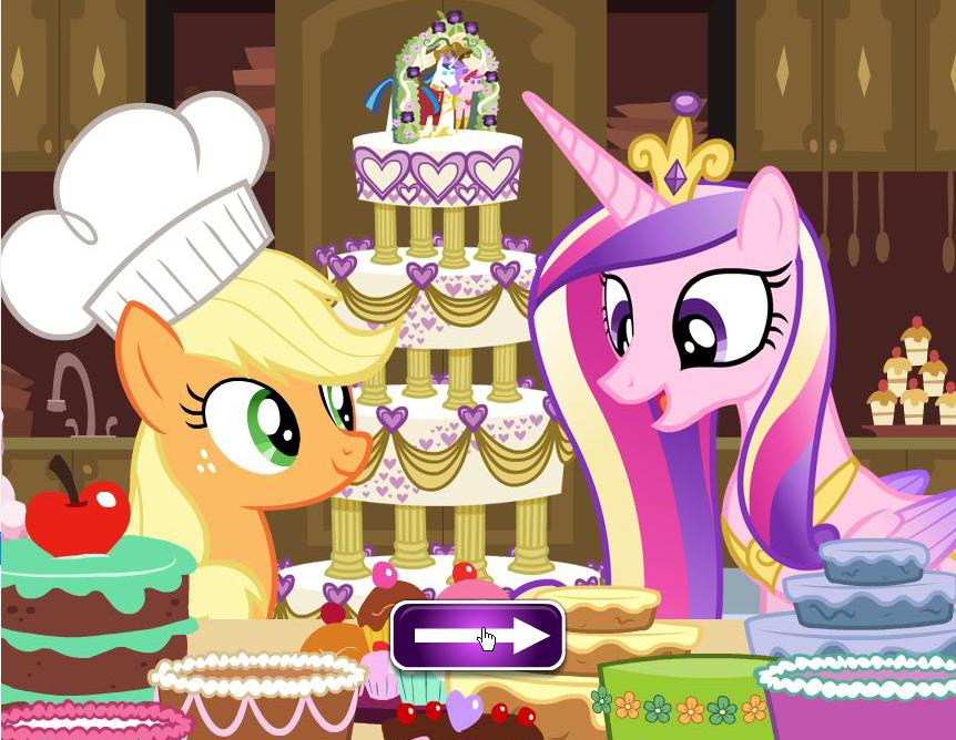 My Little Pony Cadence Wedding Cake