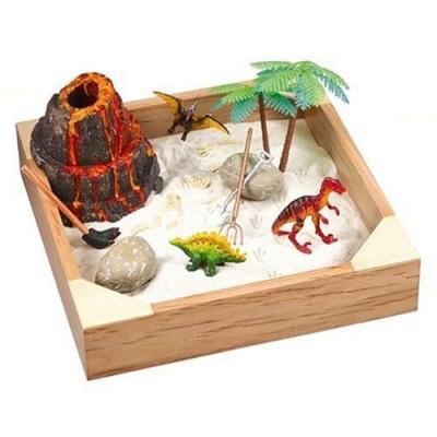My Little Sandbox Dino Land Miniature Sand Box Playground