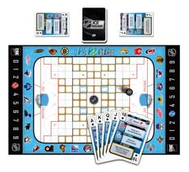 NHL Ice Breaker The Card Hockey Board Game