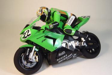 Nikko Kawasaki Ninja RC Motorcycle