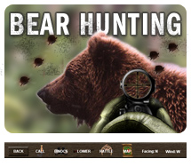 bear hunting games for free online
