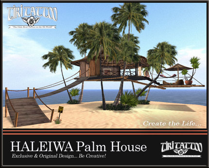 Play Free Palm Treehouse Second Life Online Games