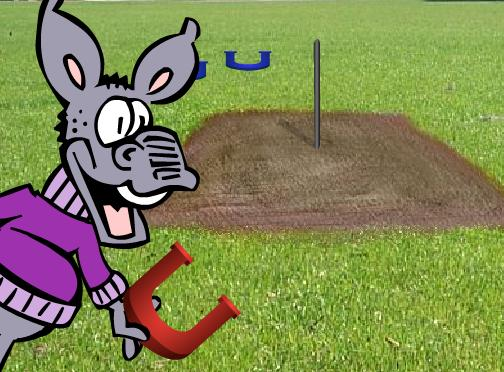 how to pitch horseshoes instructions