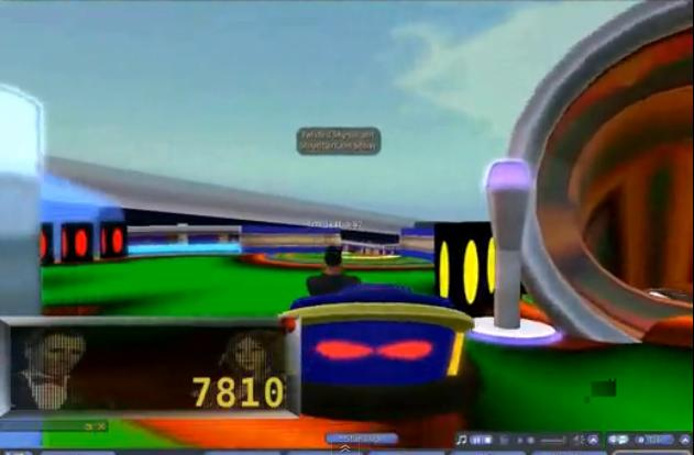 Play Free Pinball Bumper Cars Second Life Online Games
