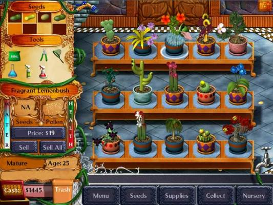 Plant Tycoon Mac The perfect garden simulation game for ...