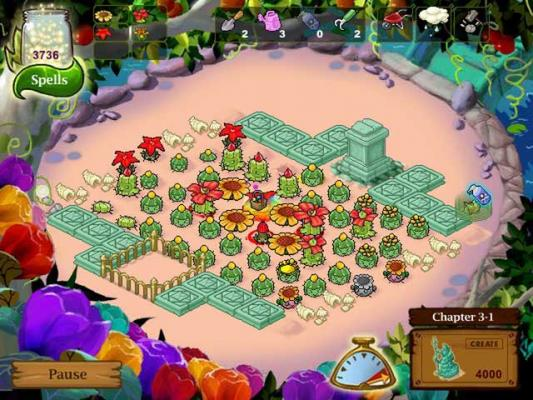 play free plantasia garden online games plant seeds