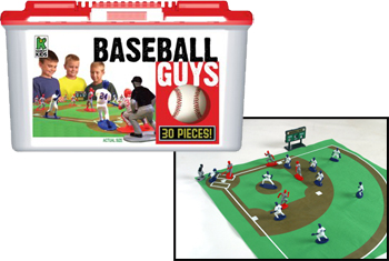 Plastic Baseball Guys